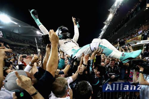 Як Ніко Росберг вперше став чемпіоном світу (ФОТО)