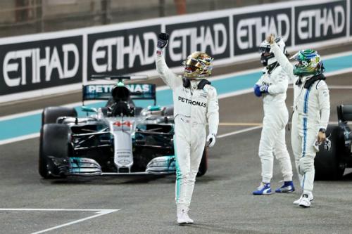 Як гонка в Абу-Дабі закрила сезон-2017 (ФОТО)