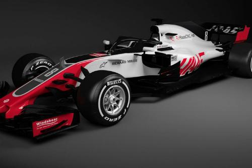 Haas першим показав свій болід на сезон-2018 (+ФОТО)