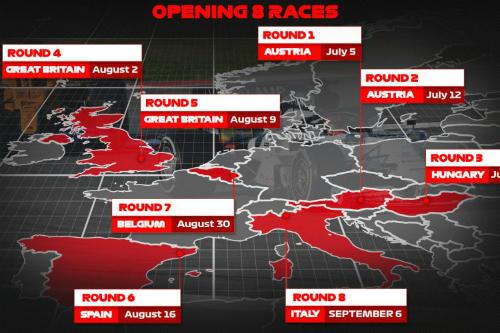 Офіційно. Формула-1 показала календар на перші 8 етапів (+ФОТО)