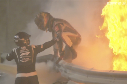 Грожан: Я був у вогні 28 секунд і тричі намагався вибратися. Смерть була близько