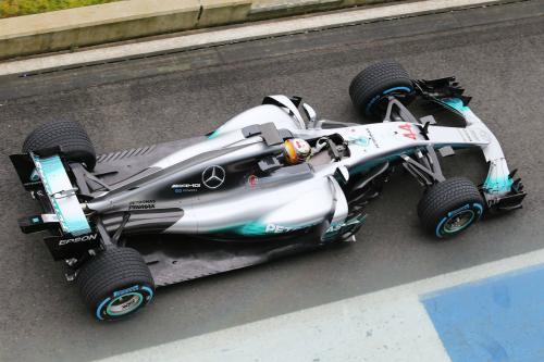 Mercedes презентував свій новий болід на сезон-2017 (ФОТО)