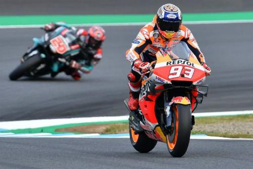 MotoGP. Маркес виграв гонку в Японії, Россі зійшов