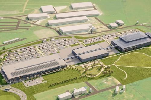 Aston Martin почав будувати свою нову базу в Британії (+ФОТО)