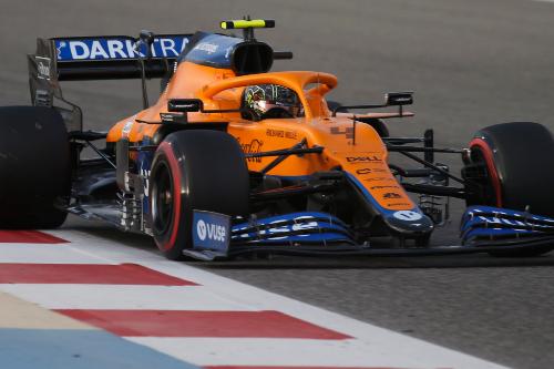 Норріс: McLaren зробив маленький крок вперед