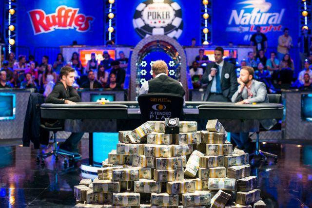Финал покерного турнира